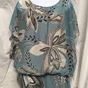 Beautiful Style & Co Floral Blouse